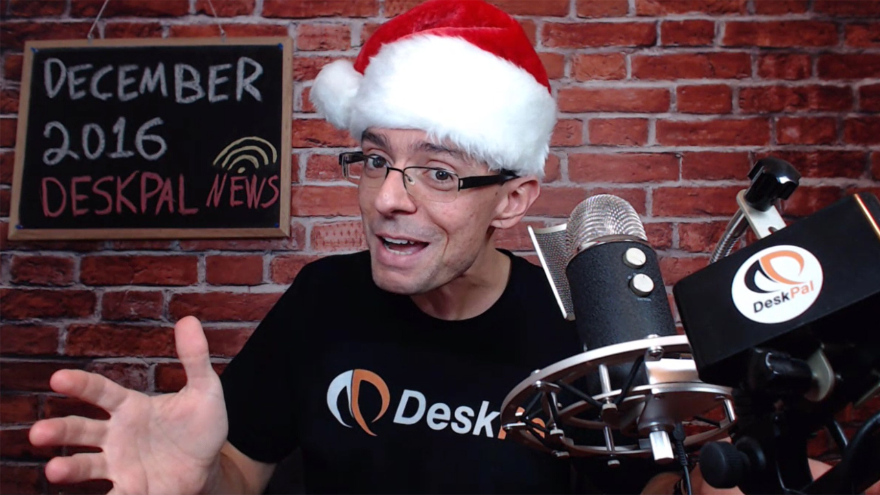 DeskPal News - December 2016